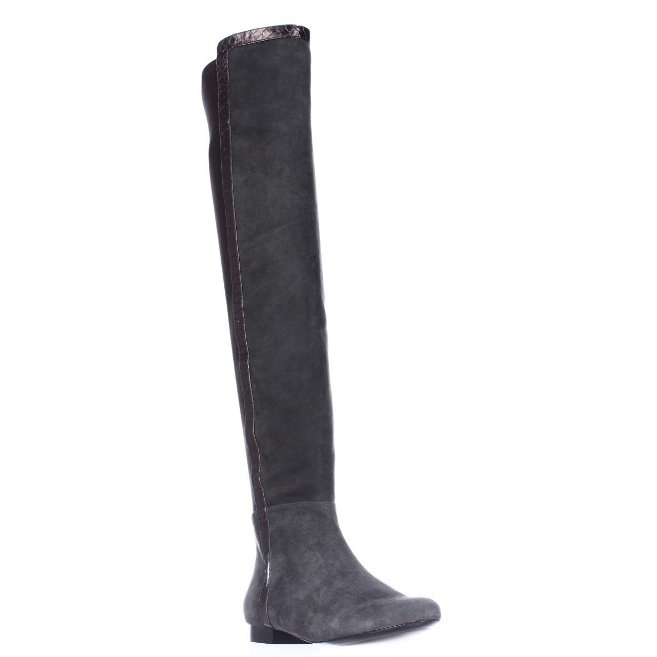 Womens Vince Camuto Filtra Over The Knee Riding Boots, Gray