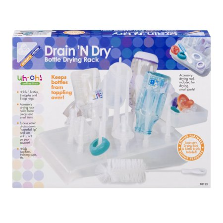 Mommy's Helper Drain 'N Dry Bottle Drying Rack, 1.0 CT