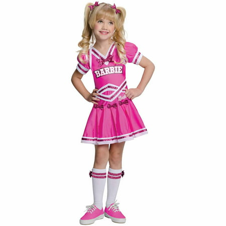 Barbie Cheerleader Child Halloween Costume for $<!---->