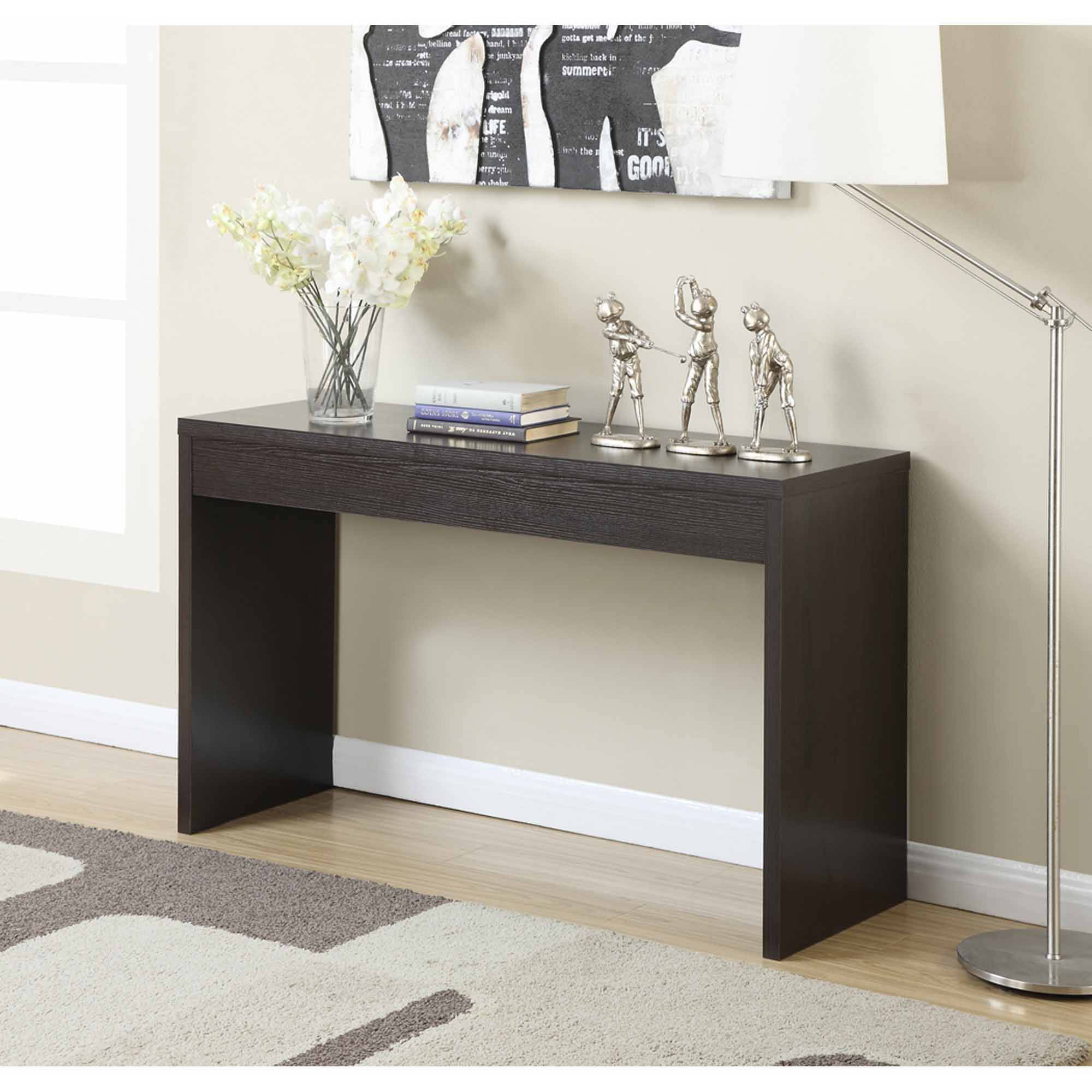Hall Console Tables With Storage console table with drawers and shelves. durham console table