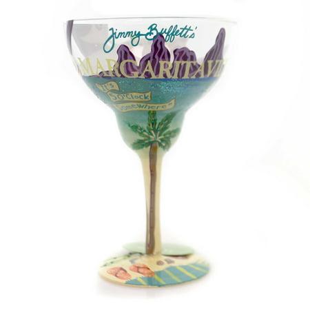 Tabletop MARGARITAVILLE LOLITA GLASS Glass Hand Painted Margarita 4057326