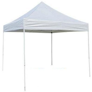 Prosource Easy Pop Up Tent Instant Canopy 10 X 10 Feet