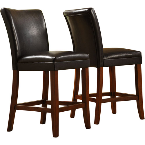 Metro Parsons Counter Stool 24 Quot Espresso Leather
