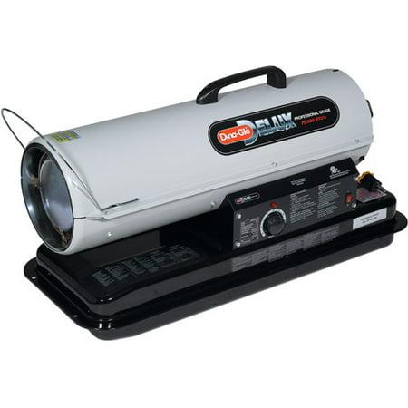 Dyna Glo 75,000-BTU Kerosene Forced Air Heater with Thermostat, KFA75DGD