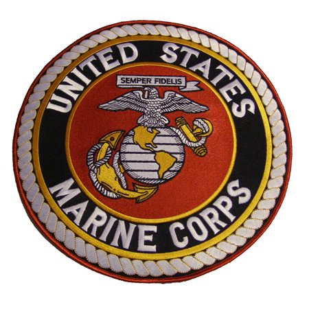 Marine Corps Seal Patch - Large 10