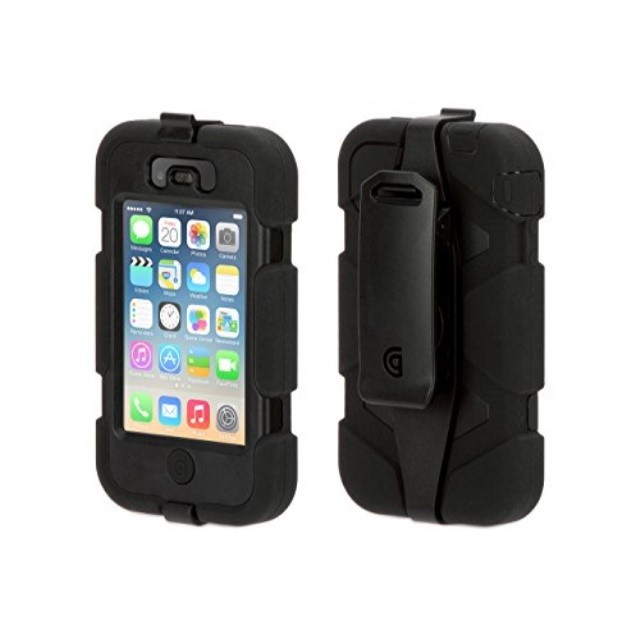 Griffin Technology Iphone4 Survivor Blk/blk/blk