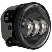 Single 6145-12V Bumper Fog Lamp Black