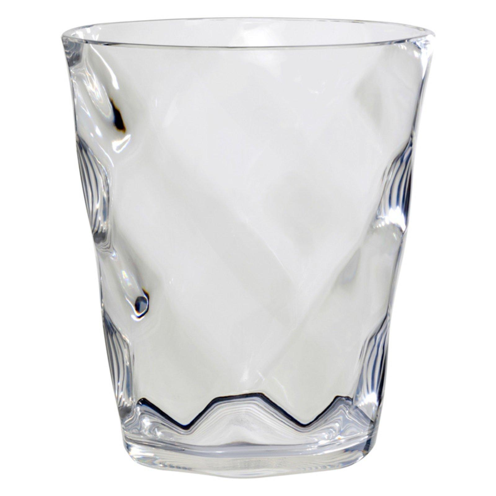 Glass Blocks Waste Basket