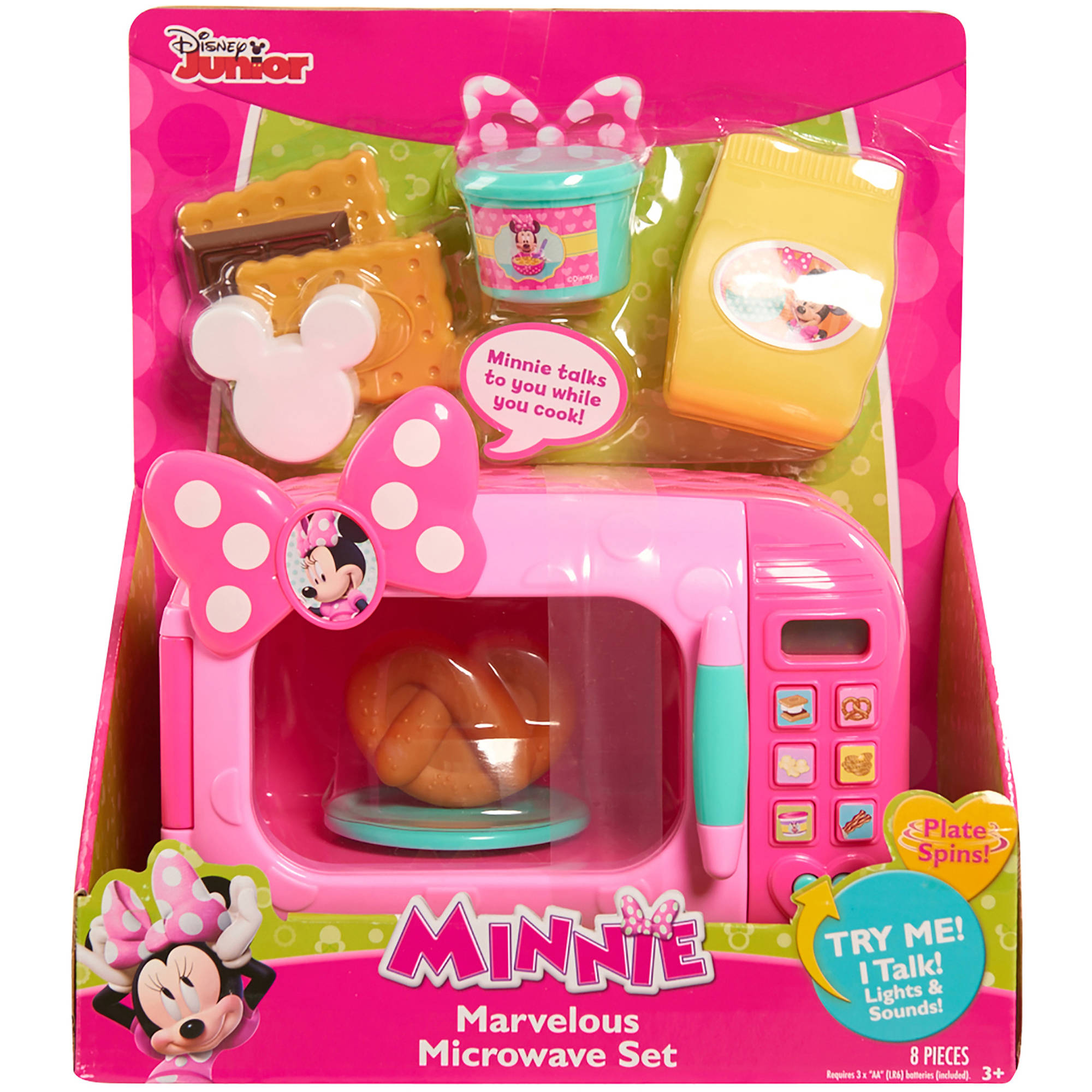 Disney Minnie Bow-Tique Marvelous Microwave Set by Generic