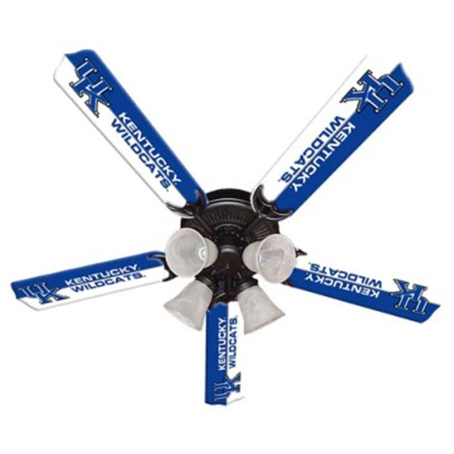Ceiling Fan Designers 7995-KTY New NCAA KENTUCKY WILDCATS 52 inch Ceiling Fan