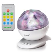 Loyal Remote Control Multicolor Ocean Wave Projector Nightlight Baby Lamp With Mini Music Player Fit For Any Holiday Party Decorations Access Control Access Control Kits