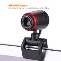 FAGINEY Web Camera,USB2.0 with MIC 16MP HD Webcam Web Camera Cam 360° for Computer PC Laptop for Skype / MSN, 360° Camera