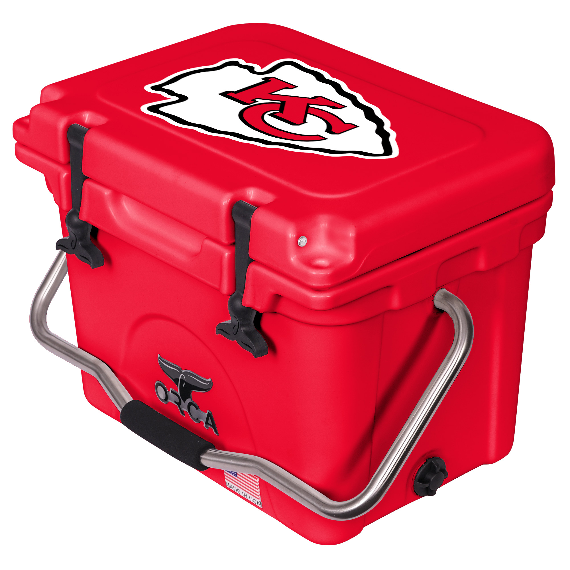 Kansas City Chiefs ORCA 20-Quart Hard-Sided Cooler - Red - No Size