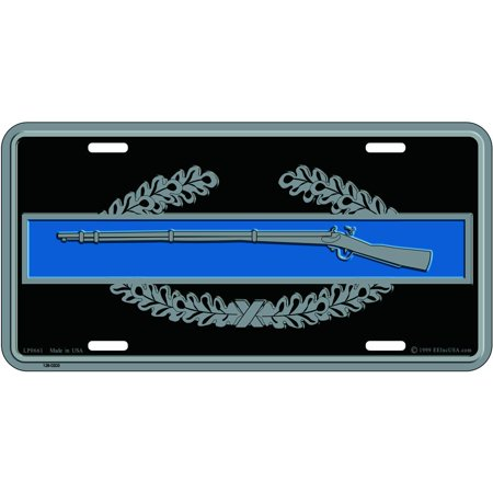 U.S. Army Combat Infantryman Badge License (Badge License Plate)