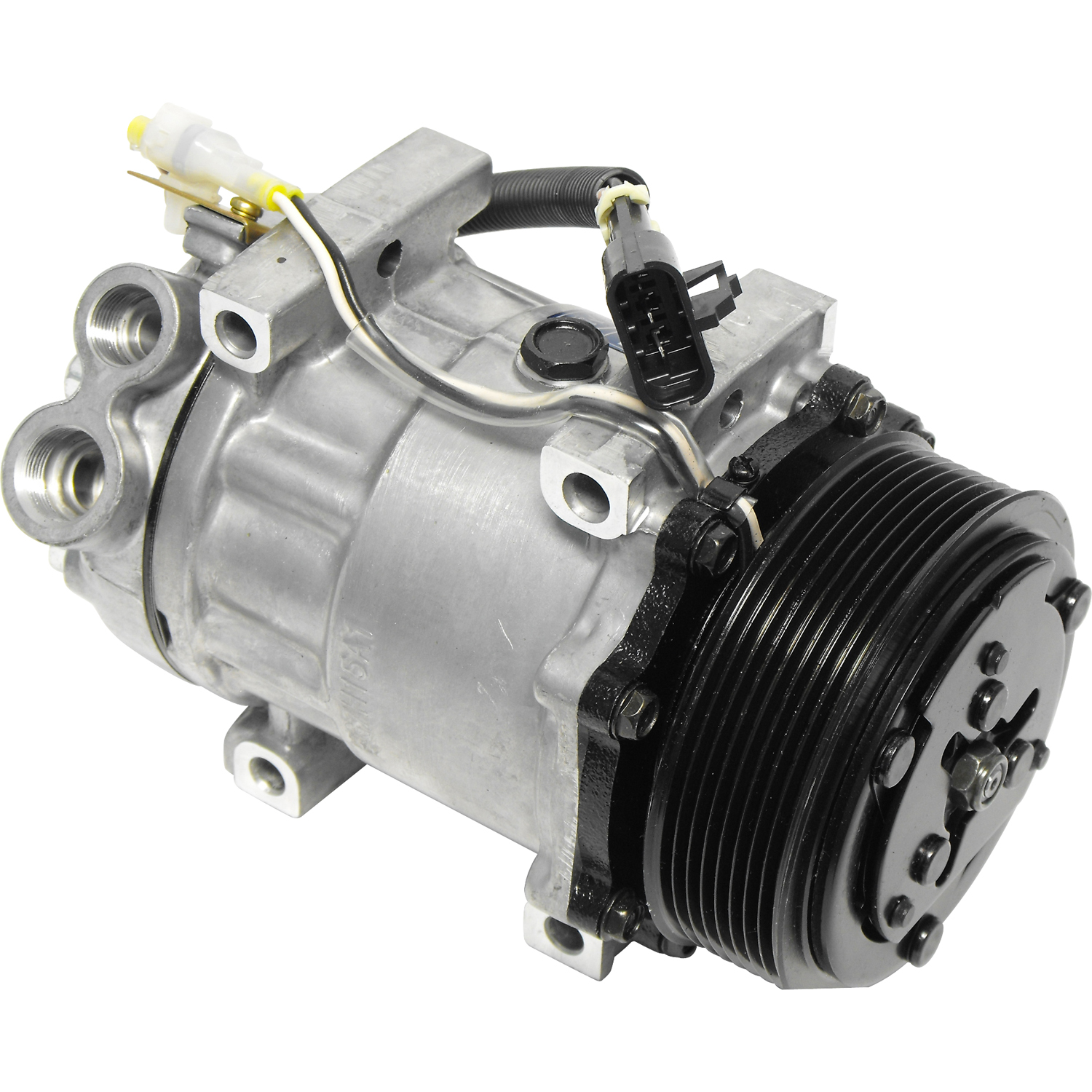 New A/C Compressor and Clutch 1010830 - A2248973000