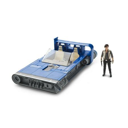 Star Wars Force Link 2.0 Han Solo Landspeeder and Figure - Star Wars Dewback
