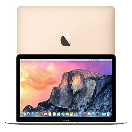 "Apple MacBook 12"" Laptop with Retina Display Gold 256GB HD 8GB Ram MK4M2LL/A ( Manufacturer Refurbished)"