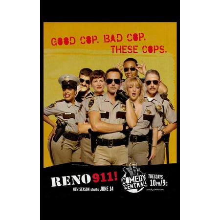 Reno 911! POSTER Mini Promo](Reno 911 Dangle)
