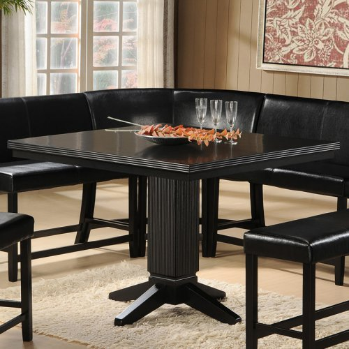 Homelegance Papario Square Counter Height Dining Table - Black