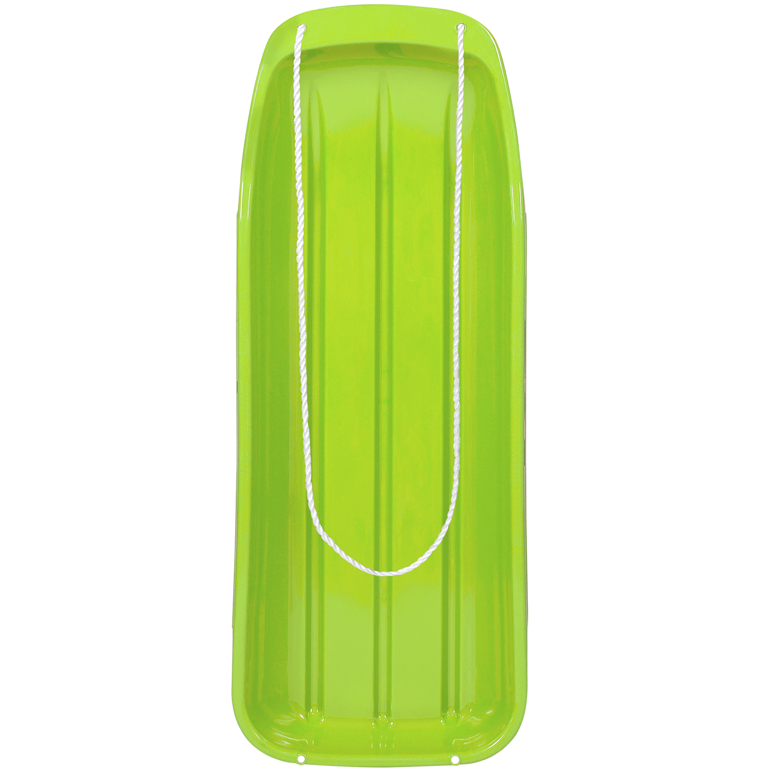 """Best Choice Products 48"""" Kids Snow Sled Toboggan Outdoor W/ Rope Sport- Green"""