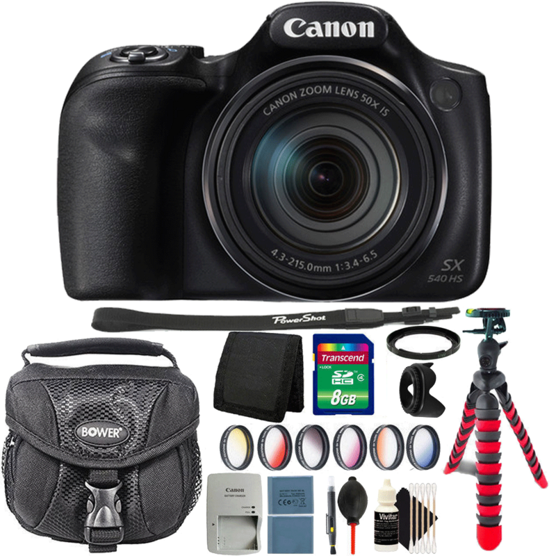 Canon Powershot SX540 HS 20.3MP Digital Camera with Complete Accessory Kit