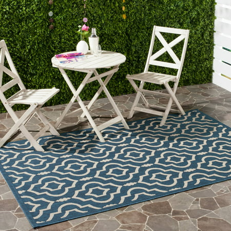 Safavieh Courtyard Alexa Geometric Indoor/Outdoor Area Rug or Runner ()