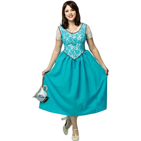 Once Upon A Time Belle, XX Large - Belle Once Upon A Time Halloween Costumes