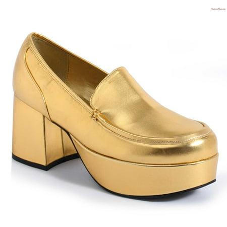 White Pimp Shoes (312-DADDIO 3'' Heel Mens Pimp)