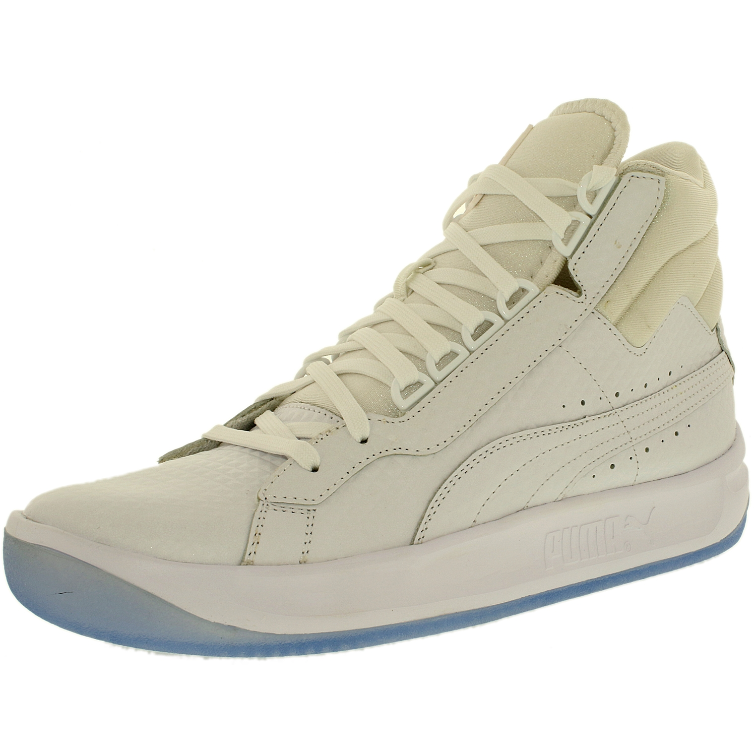 Puma Men's Challenge Embossed White Ankle-High Fashion Sn...
