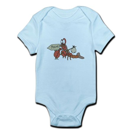 CafePress - Lobster Moving To Maine Infant Bodysuit - Baby Light Bodysuit - Lobster Baby