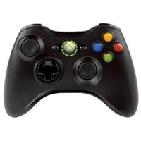 Microsoft Xbox 360 Wireless Controller Black (Certified Refurbished)