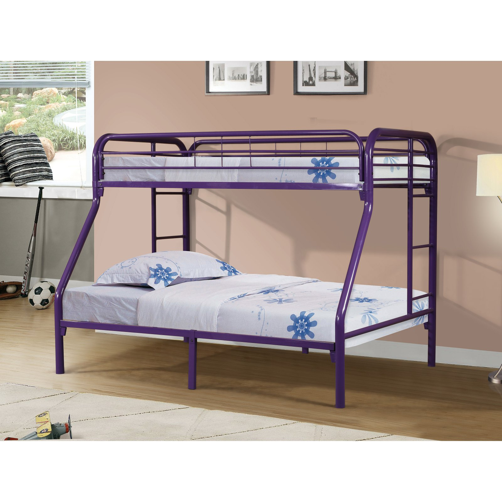 Donco Kids Twin over Full Metal Bunk Bed