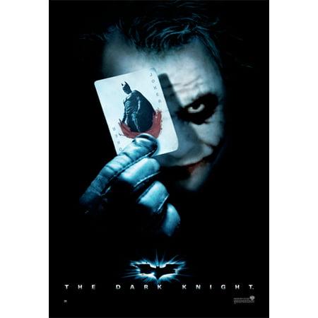 Batman: The Dark Knight - Movie Poster / Print (The Joker / Playing Card) (Size: 27