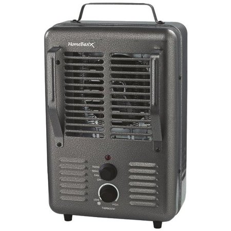 Milkhouse DQ1001 Deluxe Portable Utility Heater, 1300/1500 W
