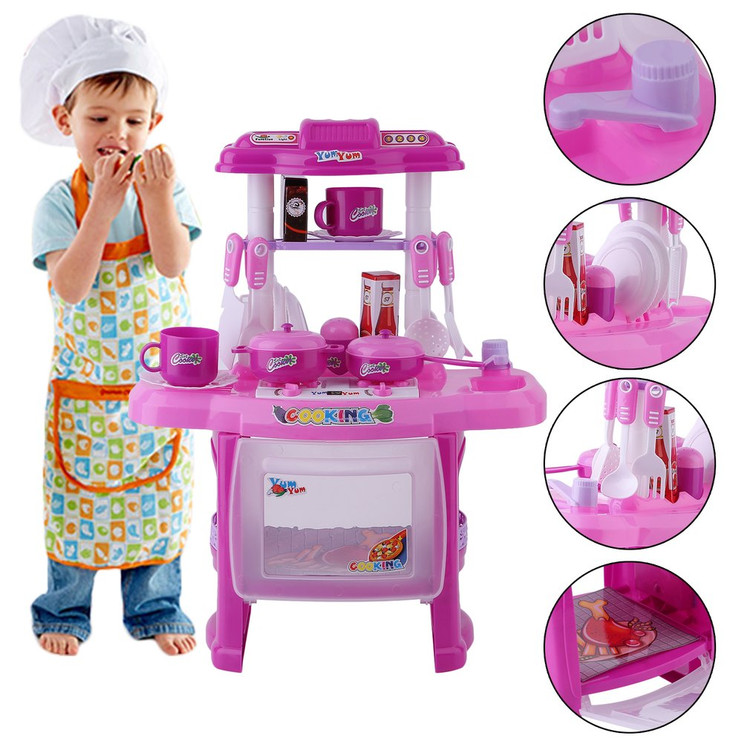 Mini Sized Fun Simulation Appliance Childrenu0027s Toy Cooking Set Kitchen  Pretend Play Toys Set For Baby