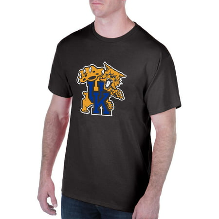 Men's Black Kentucky Wildcats Interlocking Primary Logo - Kentucky Wildcats Logo
