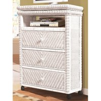 Sea Winds Trading Santa Cruz 3 Drawer Media Chest