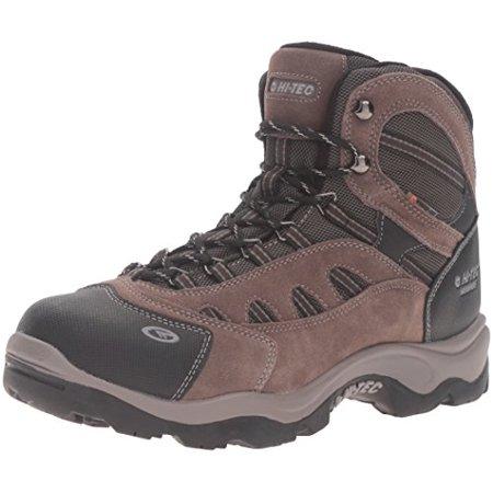 200g Hunting Boots - Hi-Tec Men's Bandera Mid 200g Waterproof-M Snow Boot, Dark Chocolate/Bungee Warm Grey, 10.5 M US