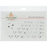 Peachy Keen Stamps Clear Face Assortment 31/Pkg-Cherubs