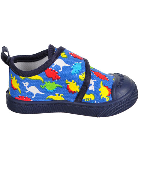 Baby Boys Printed Hook and Loop Casual Shoe