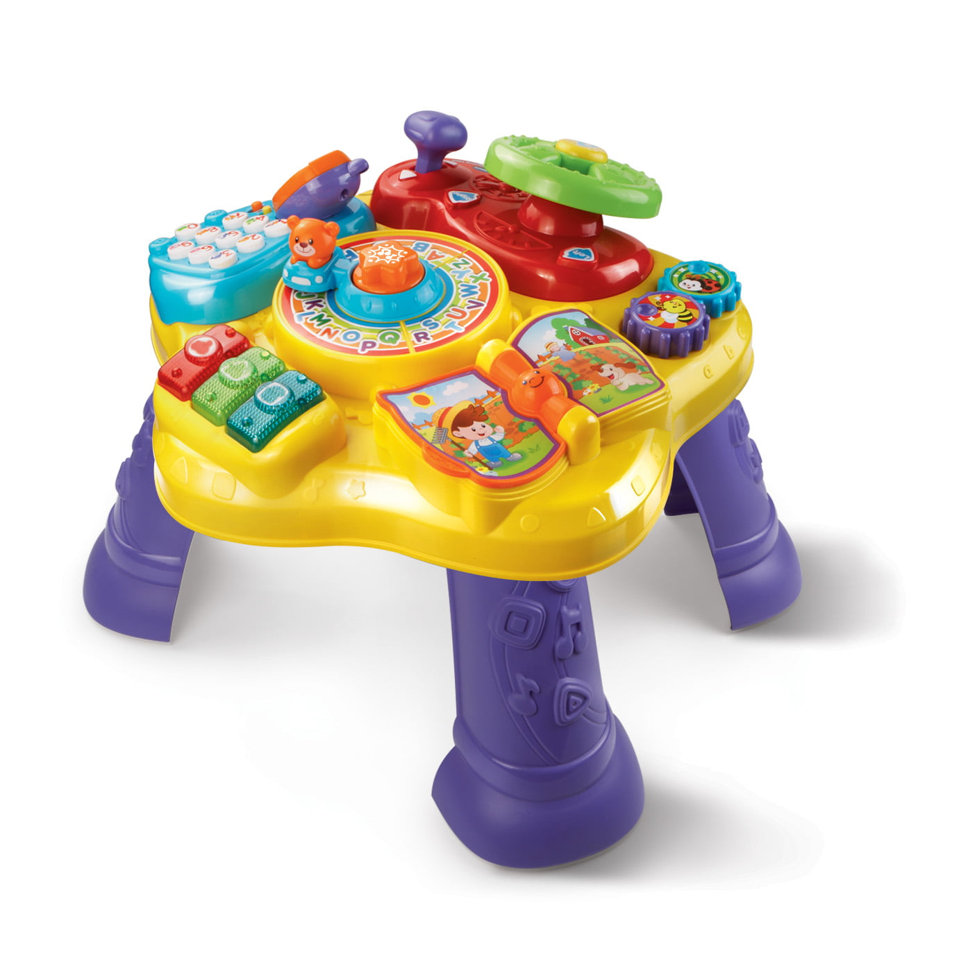 VTech Magic Star Learning Table, English and Spanish Learning Toy