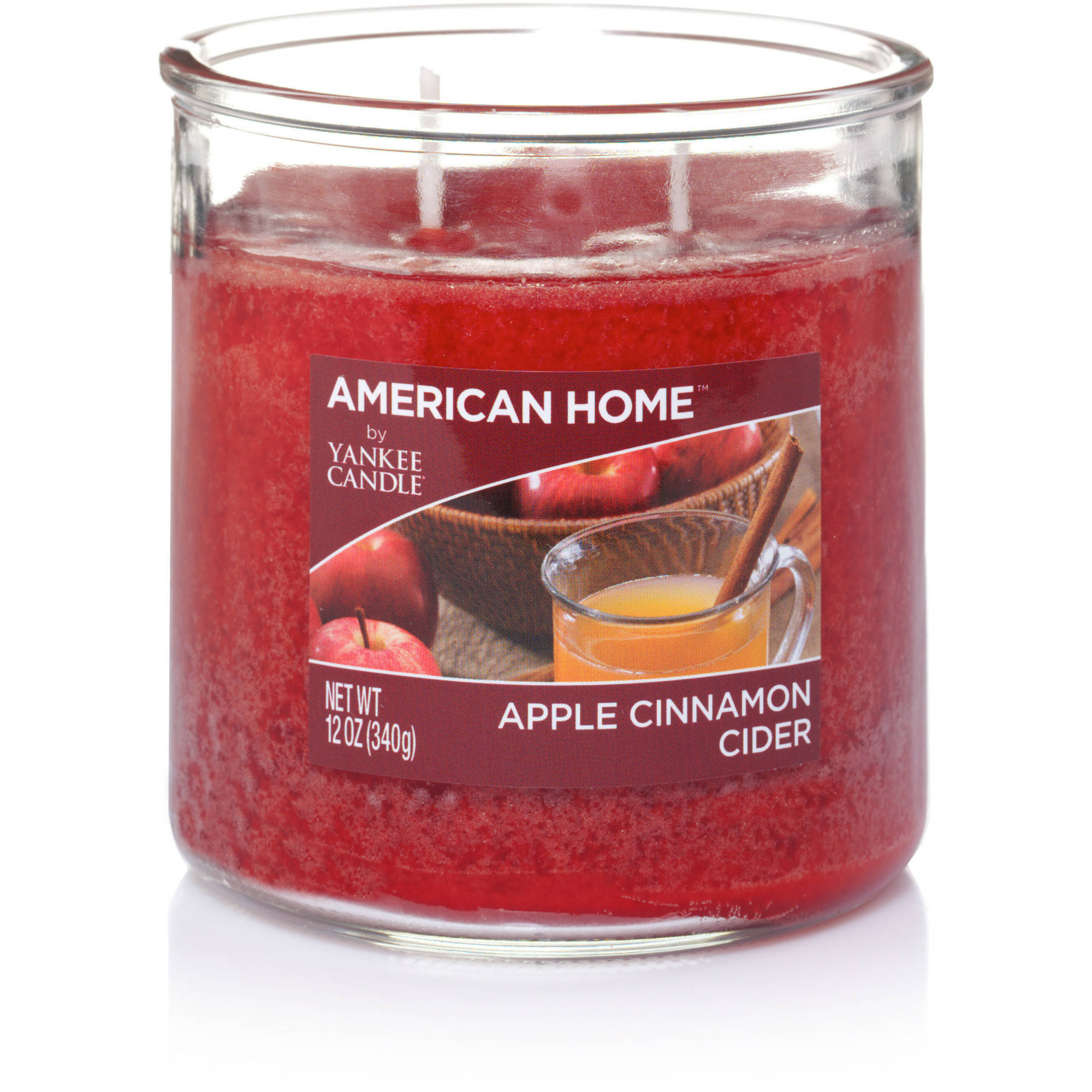 American Home by Yankee Candle Apple Cinnamon Cider, 12 oz Medium 2-Wick Tumbler