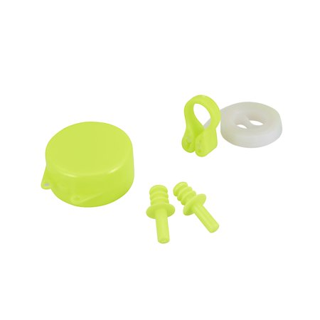 Hydro-Swim Nose Clip & Ear Plug Set, Yellow (Best Swimming Nose Clip)