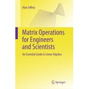 Matrix Operations for Engineers and Scientists - eBook