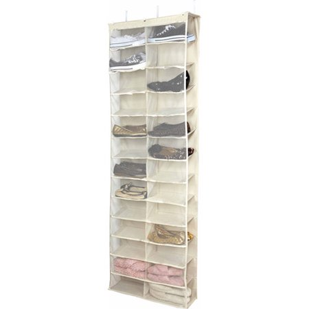 simplify 26 shelf over the door shoe rack - Over The Door Shoe Rack