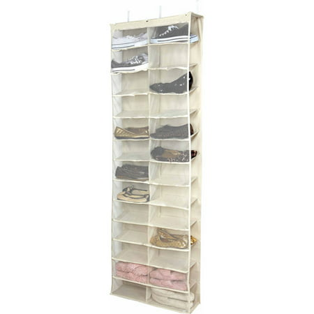 simplify 26 shelf over the door shoe rack. Black Bedroom Furniture Sets. Home Design Ideas