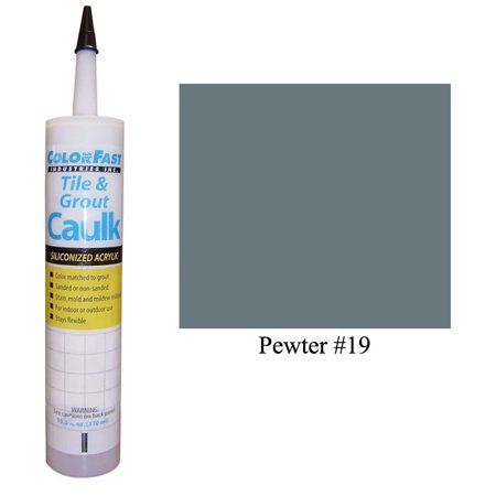 Latex Colored Caulk - CBP Color Line: Pewter Sanded Pewter Custom Blade
