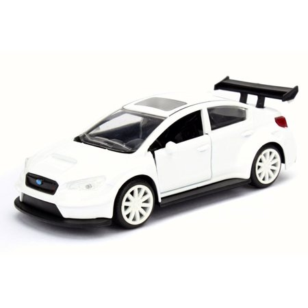 Mr  Little Nobodys Subaru Wrx Sti  White   Jada 98674Dp3   1 32 Scale Diecast Model Toy Car  Brand New But No Box