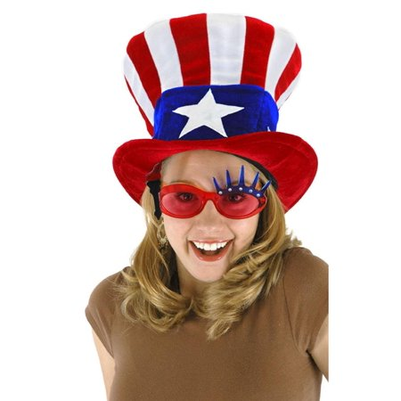USA Uncle Sam Hat Adult Halloween Accessory