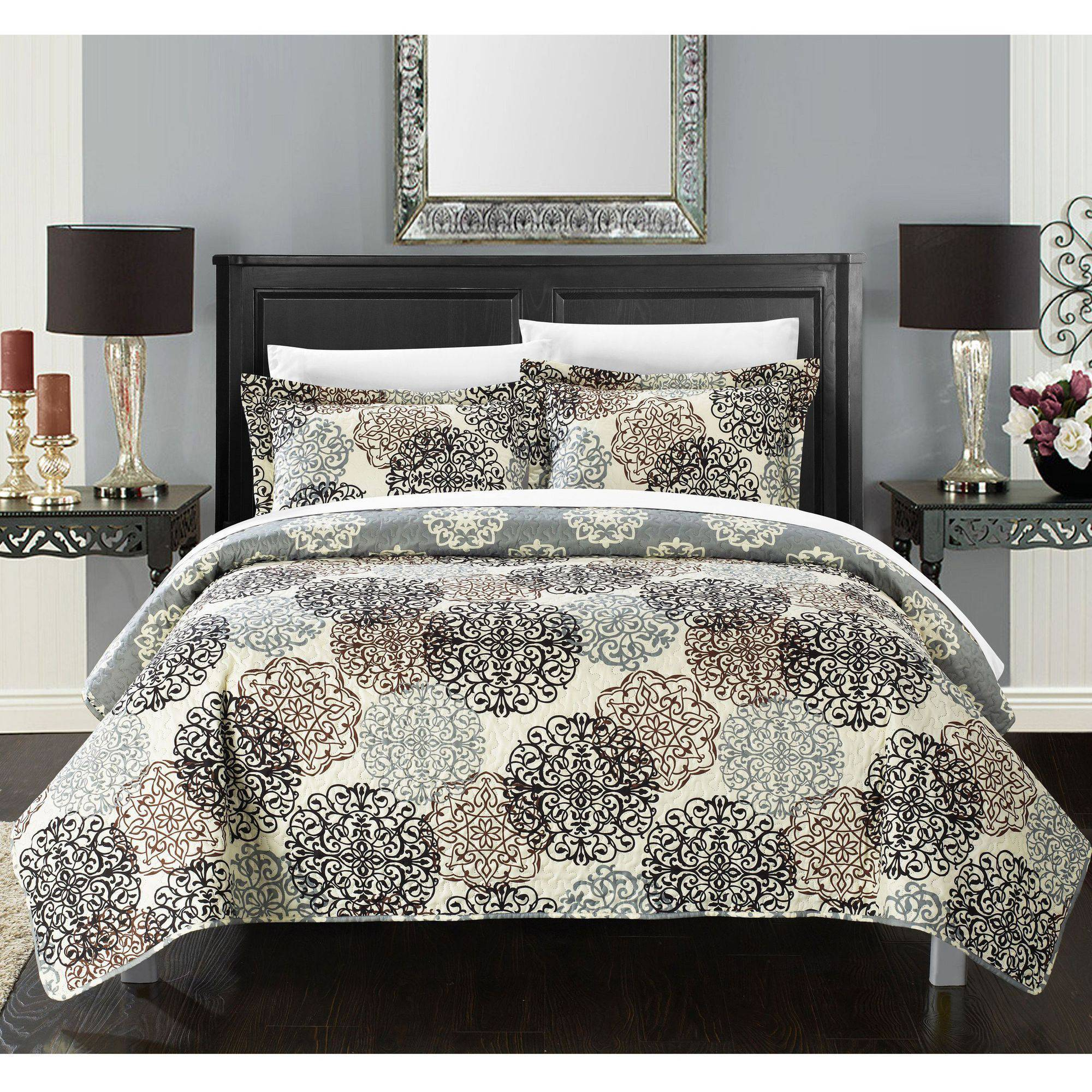 Chic Home 3-Piece Kenny Boho Quilt Set